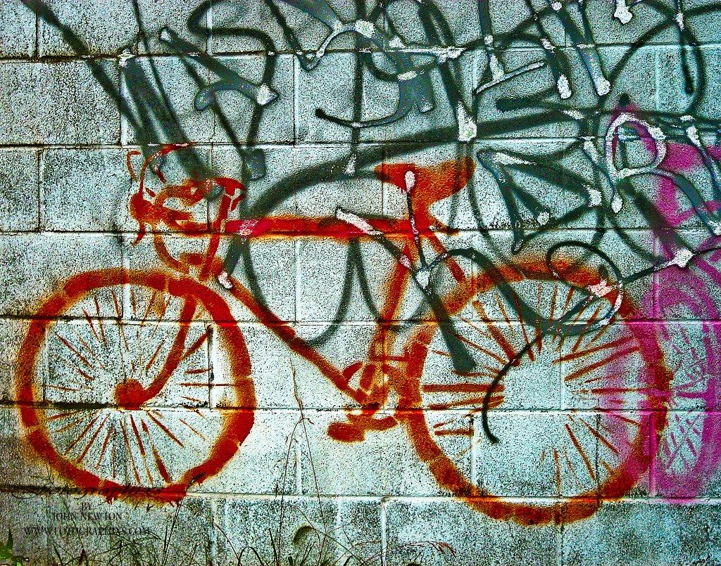 Bicycle Graffiti