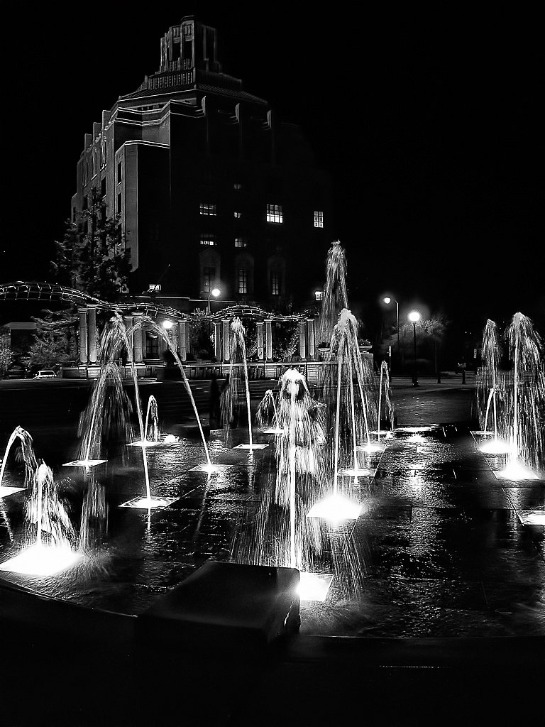 Asheville at Night #3