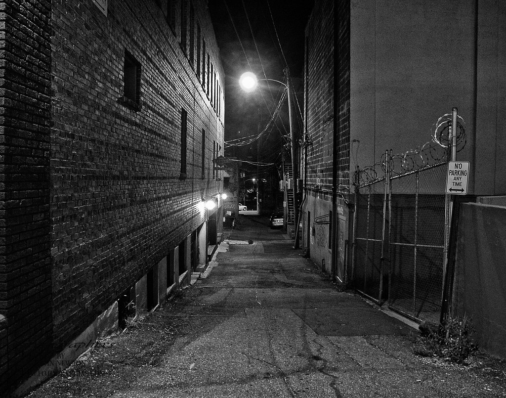 Asheville at Night #7