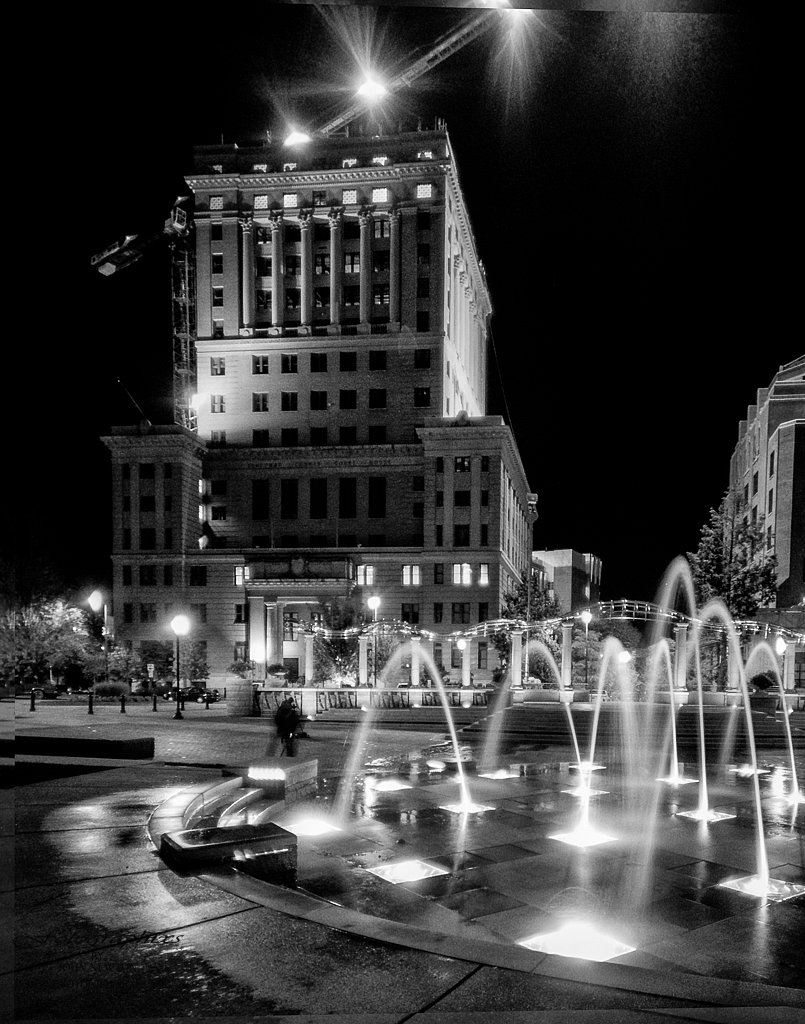 Asheville At Night #1