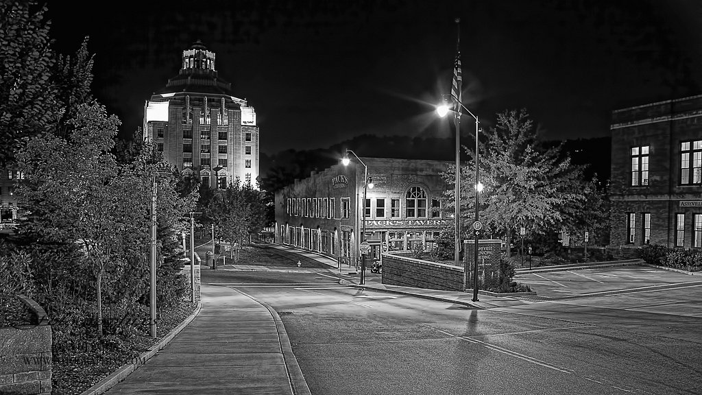 Asheville at Night #11