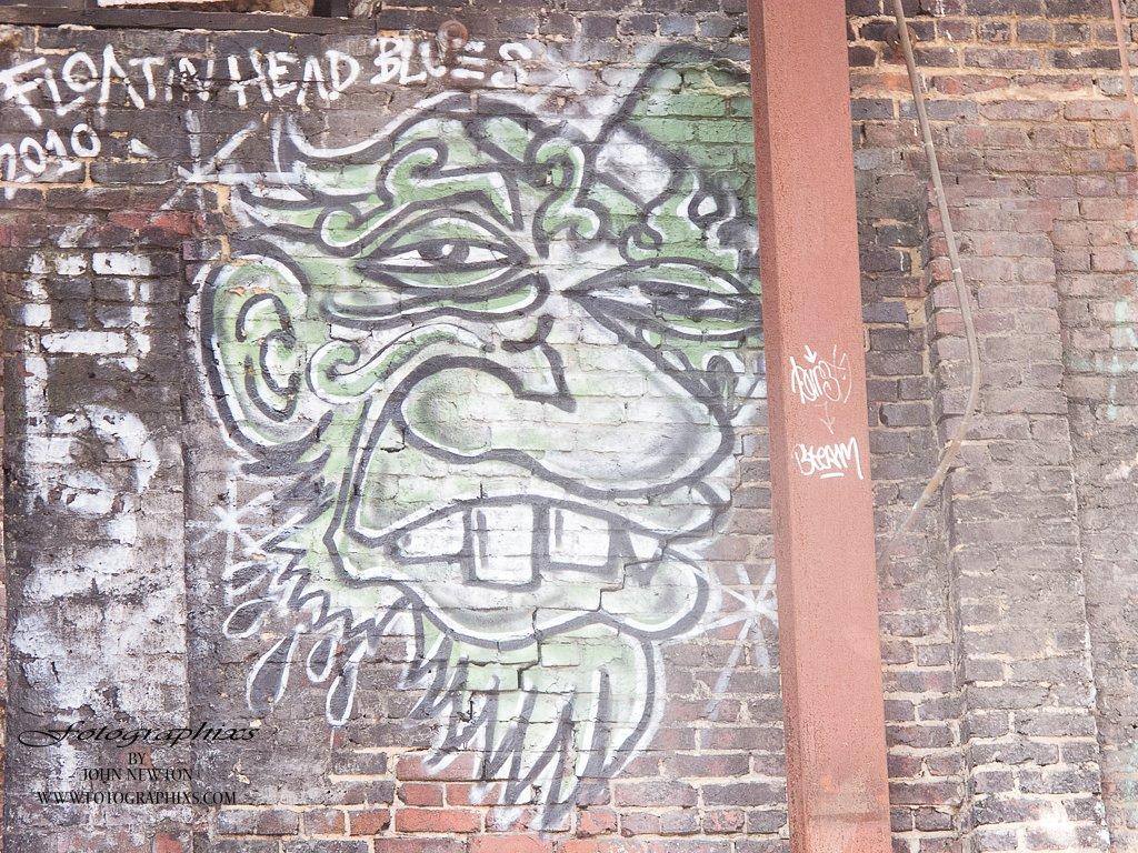Old Ice House Graffiti #2