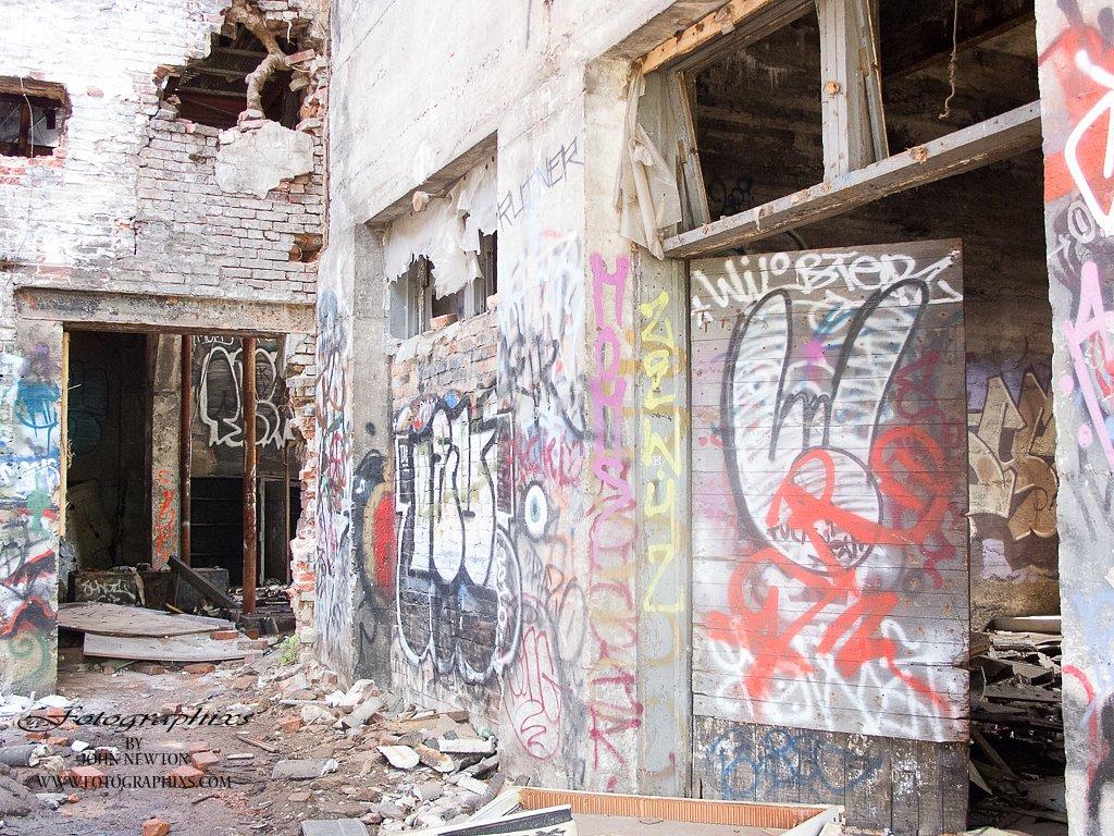 Old Ice House Graffiti #1